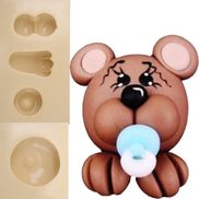 Molde-de-Silicone-para-Biscuit---Urso-Bebe-921