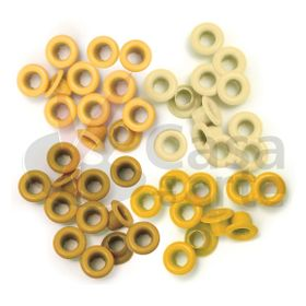 Eyelets--Standard-WeR-Memory-Keepers-–-Contem-60-Ilhoses-Yellow--41575-6