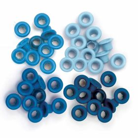 Eyelets--Standard-WeR-Memory-Keepers-–-Contem-60-Ilhoses-–-Blue-41578-7