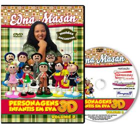 dvd-edna-masan-chaves-eva-3d-VOL-2