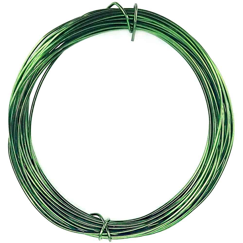 De Aparador En Ingles ~ Arames de Alumínio com 5 metros Cor Verde Escuro CasaDaArte