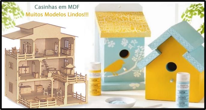 Casinhas de MDF