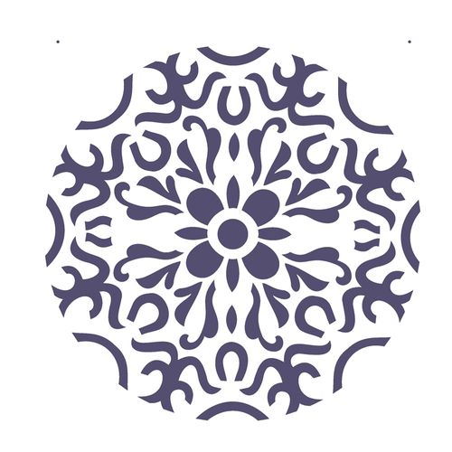 Stencil-de-Acetato-para-Pintura-20x25-Simples-Mandala-I-Camada-II-Colorido-OPA2281