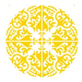 Stencil-de-Acetato-para-Pintura-20x25-Simples-Mandala-III-Camada-II-Colorido-OPA2285