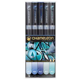 Kit-com-05-Canetas-Tons-de-Azul-CT0513
