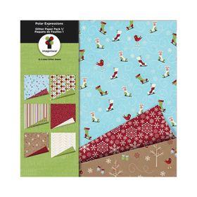 boloco-imaginisce-12-x-2-pecas-polar-expressions-glitter-paper-pack