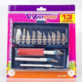 Estojo-com-3-estiletes-de-precisao-e-13-laminas-intercambeaveis-Westpress---21607-1