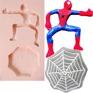Molde-de-Silicone-para-Biscuit---Homem-Aranha-na-Teia-1012