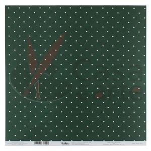 Paginas-Decoradas-Linha-Basic-Estrelas-Grandes-Repeteco---Verde-Escuro