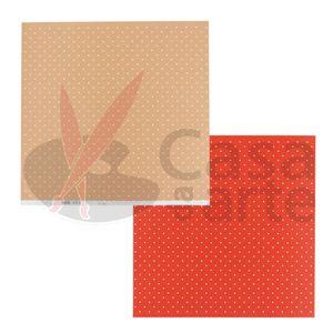Paginas-Decoradas-Linha-Duo-Bolas-Repeteco-Salmao-Vermelho---Mostarda---Cod.-PL0110235