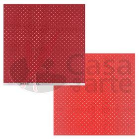 Paginas-Decoradas-Linha-Duo-Bolas-Repeteco-Vermelho-Vermelho---Paprica---Cod.-PL0110538