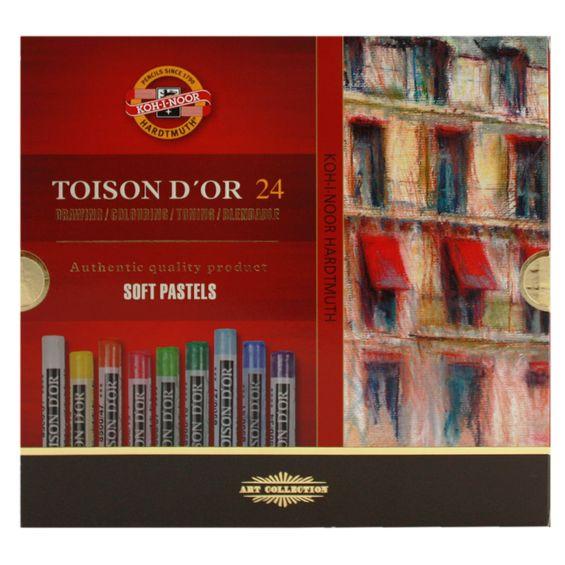Estojo-de-Giz-Pastel-Seco-Toinson-Dor-com-24-cores
