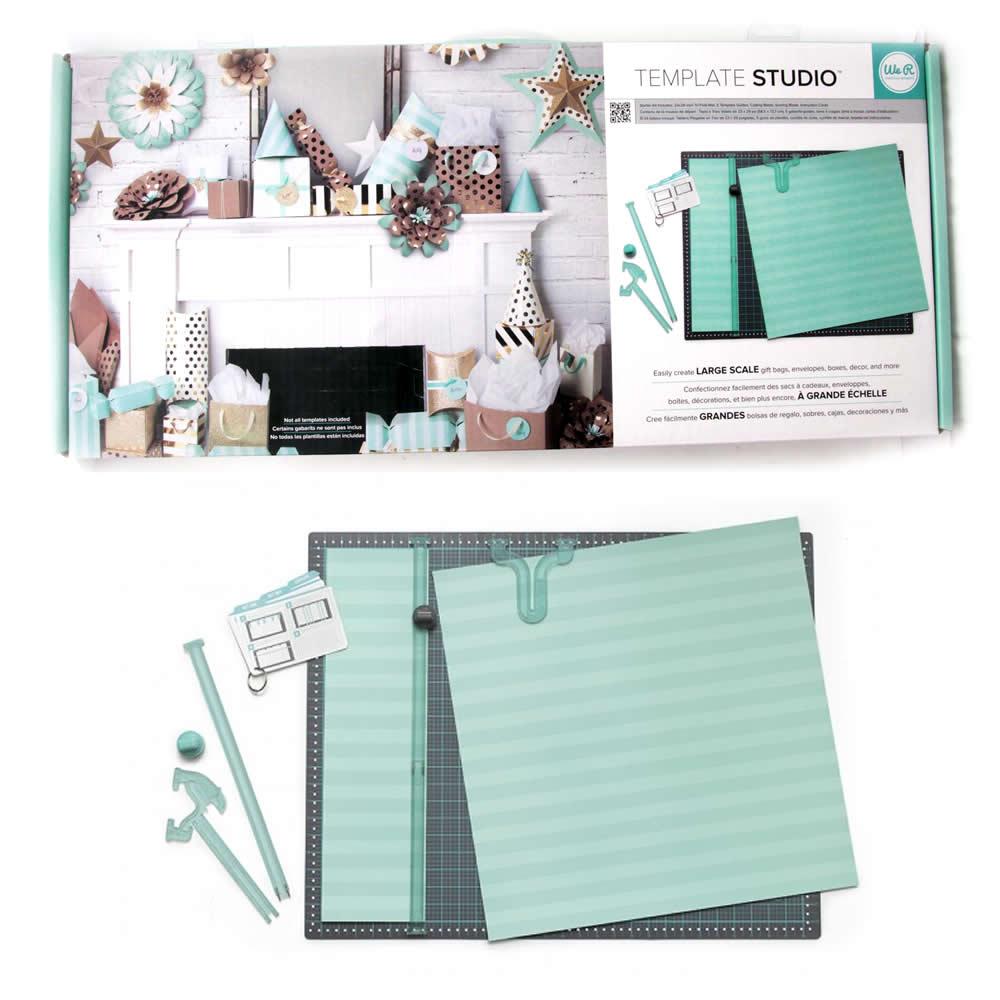 607944ec3 Ferramenta Template Studio We R Memmory Keepers - Starter Kit ...