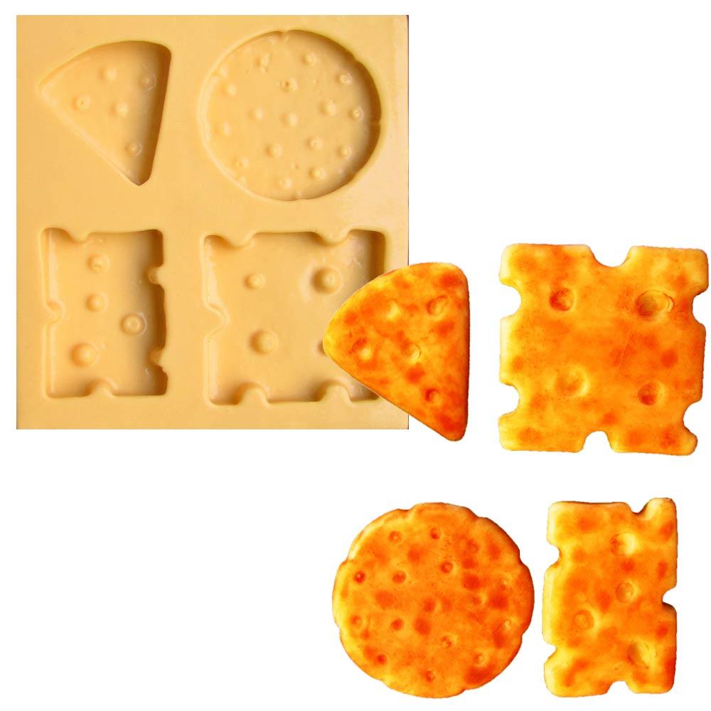 molde de silicone para biscuit casa da arte modelo salgadinhos de