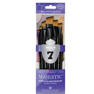 Kit-Majestic-Angular-com-07-pinceis-RMAJ-301-Royal---Langnickel