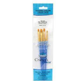 Kit-Crafter-s-Choice-Shader-com-04-pinceis-RCC-202-Royal---Langnickel