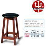 Banco-Assento-Estofado-de-Madeira-Trident-com-Altura-de-76-cm