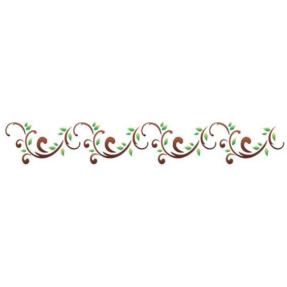 06x30-Simples-Arabesco-Folhas-II-OPA1124-Colorido