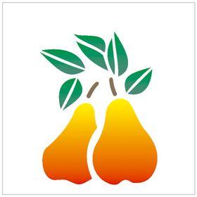 10X10-Simples-Frutas-Peras-OPA785-Colorido