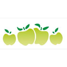 10x30-Simples-Frutas-Macas-II-OPA099-Colorido