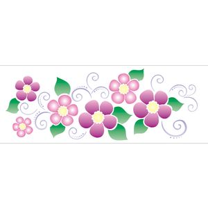 10X30-Simples-Flor-Arabesco-II-OPA1134-Colorido