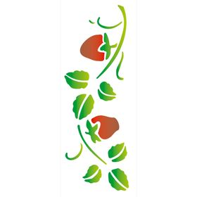 10x30-Simples-Frutas-Morangos-OPA340-Colorido