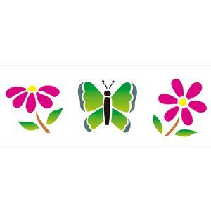 10x30-Simples-Borboletas-e-Flores-OPA431-Colorido