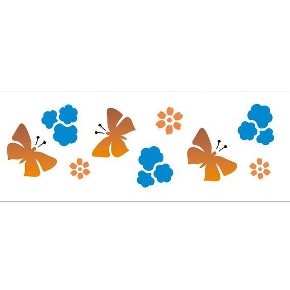 10x30-Simples-Borboletas-e-Flores-II-OPA479-Colorido