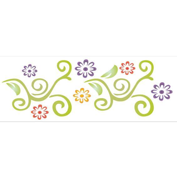 10X30-Simples-Arabesco-Flores-OPA960-Colorido