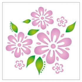 14x14-Simples-Flores-e-Folhas-OPA1056-Colorido