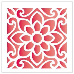 14x14-Simples-Ladrilho-Flor-OPA1735-Colorido
