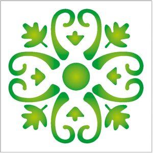 10x10-Simples-Arabesco-Folhas-OPA144-Colorido