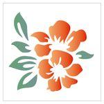 14x14-Simples-Flor-Hibisco-OPA989-Colorido