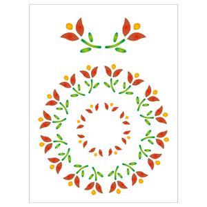 15x20-Simples-Mandala-de-Flores-OPA169-Colorido