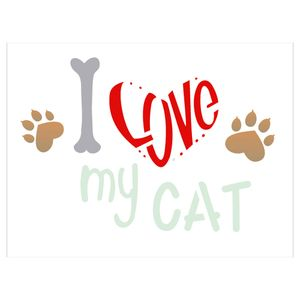 15x20-Simples-Pet-I-Love-My-Cat-OPA2209
