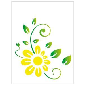 15x20-Simples-Flor-Girassol-Estilizado-OPA757-Colorido