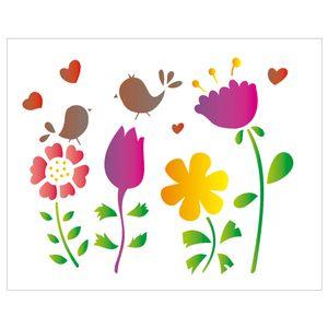 20x25-Simples-Flor-passarinho-OPA1406-Colorido