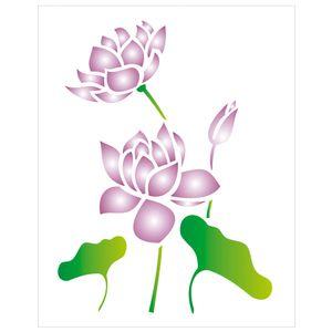 20X25-Simples-Flor-de-Lotus-OPA1775-Colorido