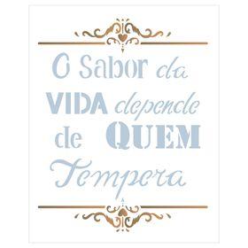 20x25-Simples-Frase-O-Sabor-da-Vida-OPA2186