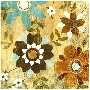 Guardanapo-para-Decoupage-Toke-e-Crie-GUA21785-19609--Flores-em-Madeira