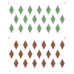 Stencil-de-Acetato-para-Pintura-15x20-Simples-Estamparia-Losangos-Colorido-OPA2240