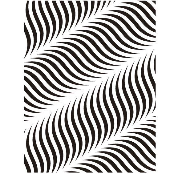 Stencil-de-Acetato-para-Pintura-15x20-Simples-Estamparia-Ondas-Colorido-OPA2241