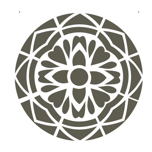 Stencil-de-Acetato-para-Pintura-20x25-Simples-Mandala-I--Camada-I-Colorido-OPA2280