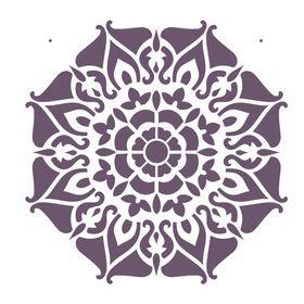 Stencil-de-Acetato-para-Pintura-20x25-Simples-Mandala-II-Camada-I-Colorido-OPA2282
