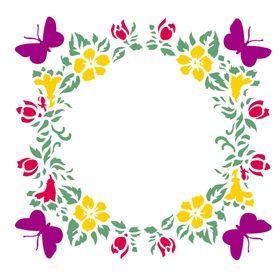 Stencil-de-Acetato-para-Pintura-305x305-Simples-Mandala-Borboletas-e-Florais-Colorido-OPA2294