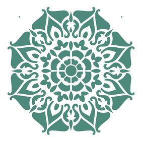 Stencil-de-Acetato-para-Pintura-305x305-Simples-Mandala-II-Camada-I-Colorido-OPA2297