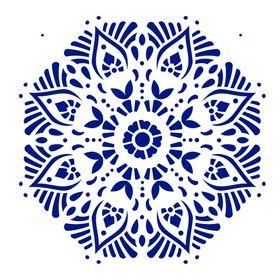 Stencil-de-Acetato-para-Pintura-305x305-Simples-Mandala-II-Camada-II-Colorido-OPA2298