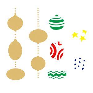 Stencil-de-Acetato-para-Pintura-20x25-Simples-Bolas-Estampadas-Colorido-OPA2311