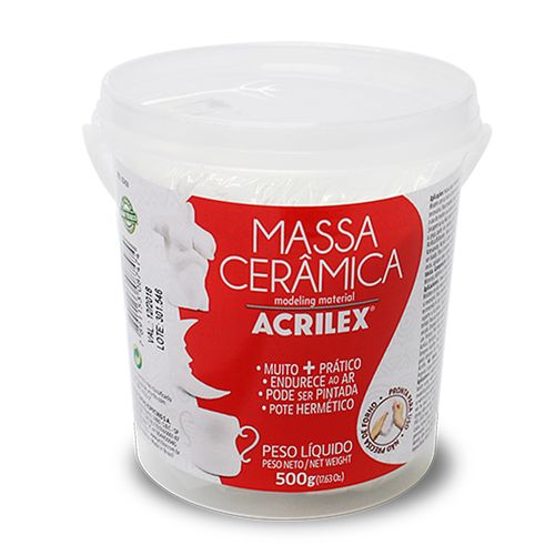 Massa-para-Modelagem-Ceramica-Acrilex-500g---Branca