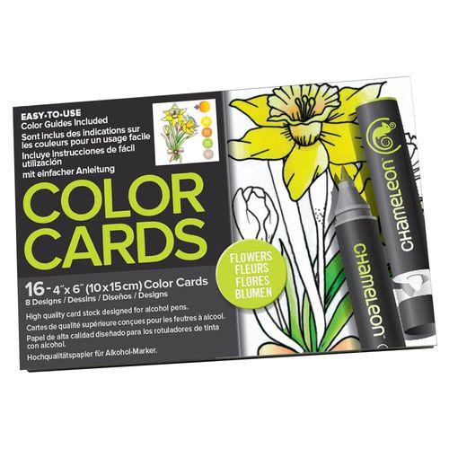 Cartoes-de-Colorir-10x15-cm-com-16-Flores-CC0102